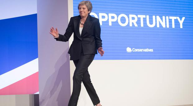 Prime Minister Theresa May has said she is a fan of Strictly Come Dancing (Stefan Rousseau/PA)