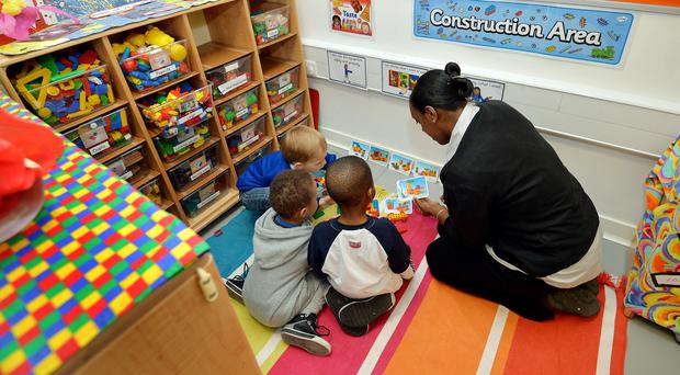 The new scheme comes after figures revealed the capacity of childcare services in Scotland has decreased (John Stillwell/PA)