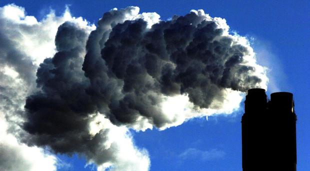 Greens also want an interim target to cut emissions by 77% by 2030 (John Giles/PA)