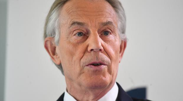 Archive picture of former prime minister Tony Blair (Victoria Jones/PA)