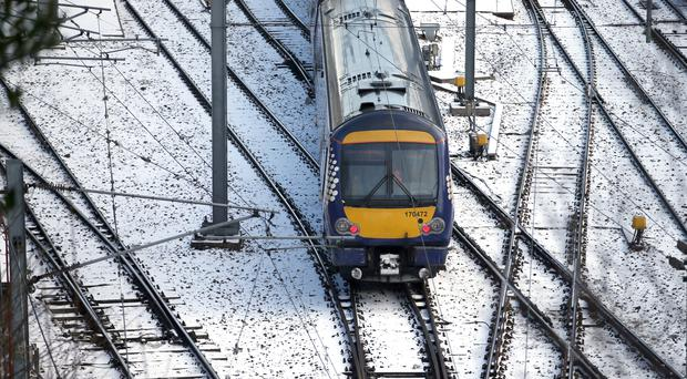 Labour is calling for rail fares in Scotland to be frozen (Jane Barlow/PA)
