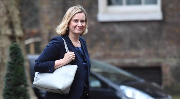 Amber Rudd is hoping the Government will 'hold stable' (Stefan Rousseau/PA)