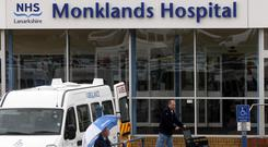 A review group will make a recommendation on the future of Monklands Hospital in February (Danny Lawson/PA)