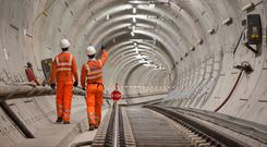 Crossrail was due to be completed this month (Dominic Lipinski/PA)