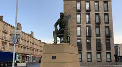The statue is located in the Anderston area of Glasgow (Lewis McKenzie/PA)