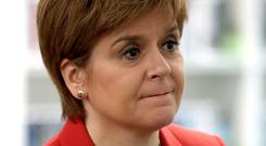 First Minister Nicola Sturgeon has hit out at the delay to the Brexit vote (Andrew Milligan/PA)
