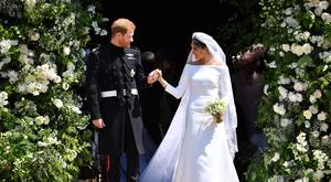 The Duke and Duchess of Sussex wed at St George's Chapel in Windsor Castle in May (PA)