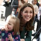 The Duchess of Cambridge met children and families at Evelina Children's Hospital in London (Chris Jackson/PA)