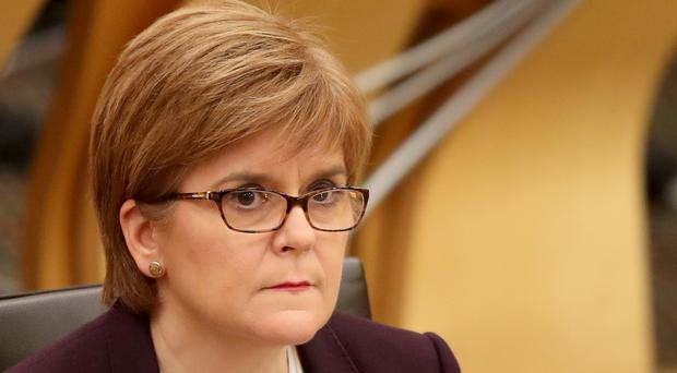 First Minister Nicola Sturgeon said the Scottish Government had not been told about the planned closure (Jane Barlow/PA)