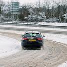 Drivers have been warned that road conditions could become treacherous this weekend (Martin Keene/PA)