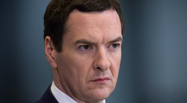 Former chancellor George Osborne has joined his brother's Silicon Valley venture capital firm (Matt Cardy/PA)