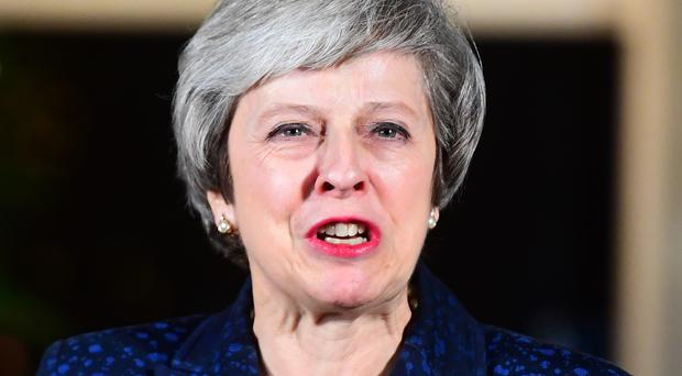 Theresa May is expected to make astatement to MPs on Monday (Victoria Jones/PA)