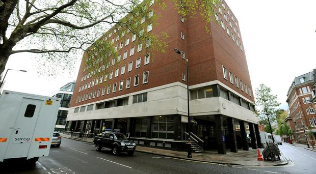 The accused represented himself at Westminster Magistrates Court (PA)