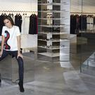 Victoria Beckham in her first store in central London (Victoria Beckham/PA)