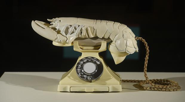 The National Galleries of Scotland met an auction sale price to secure Dali's Lobster Telephone (Greg Macvean/PA)