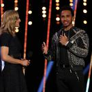 Lewis Hamilton during the BBC Sports Personality of the Year show (David Davies/PA)