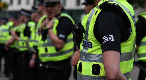 There are currently more than 17,000 police officers in Scotland (Andrew Milligan/PA)