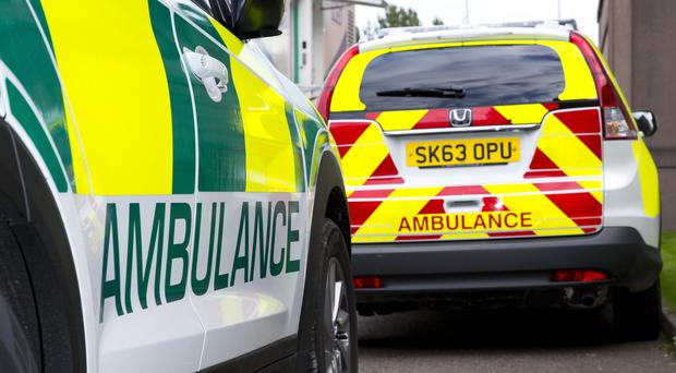 Ambulance chiefs say demand for its service is rising (Jamie Williamson/Scottish Ambulance Service/PA)