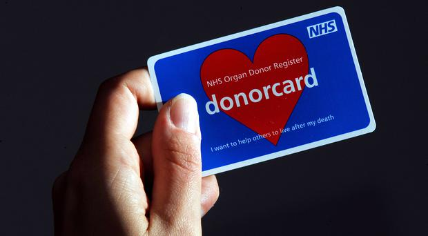 The number of people signing up to the organ donor register has increased (Clive Gee/PA)