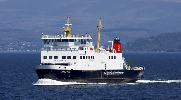 The Scottish Government announced investment for ferry services (Graham Wilson/Caledonian MacBray)