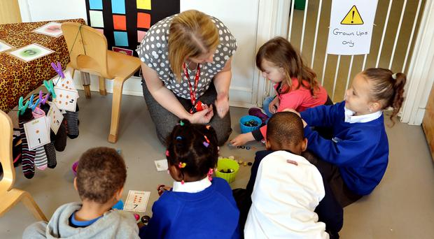 The Scottish Government missed a commitment for extra nursery staff (John Stillwell/PA)