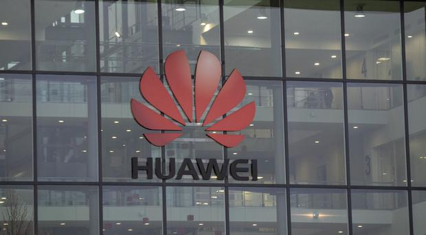 The UK headquarters of Huawei in Reading (PA)
