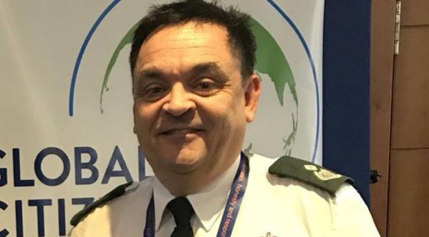 Paul Gowens has been awarded the Queen's Ambulance Service Medal (NHS/PA)