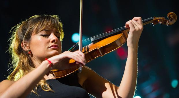 Nicola Benedetti is made a CBE in the New Year Honours (Dominic Lipinski/PA)