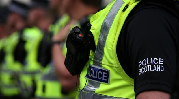 Police Scotland are hunting those involved in a disturbance in Holytown (Andrew Milligan/PA)