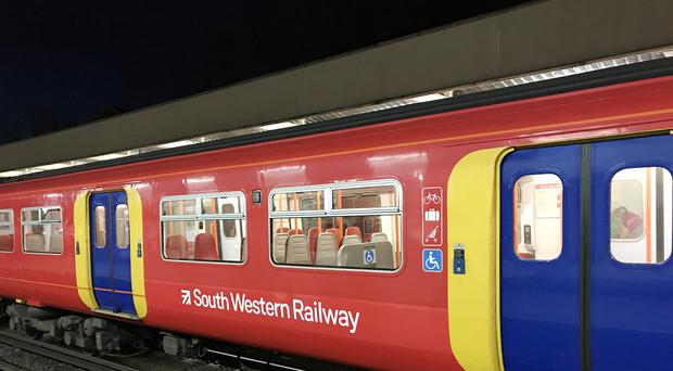 South Western Railway will introduce a new fleet of 90 trains made up of 750 carriages at the end of next year (Martin Keene/PA)