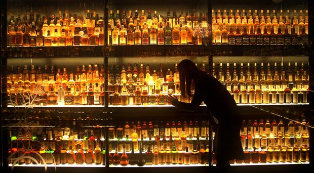 The trade agreement could help boost whisky exports, according to Liam Fox (David Cheskin/PA)