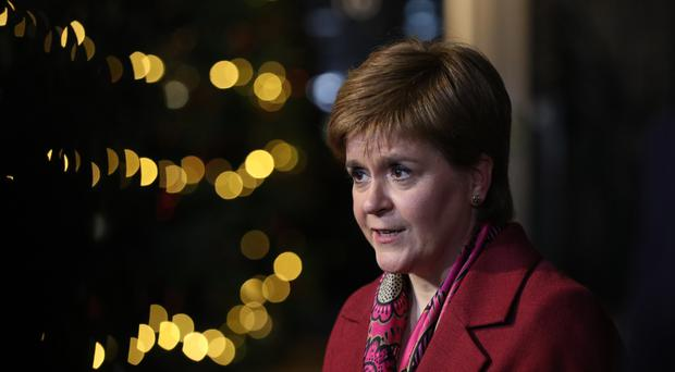 "Scotland's First Minister Nicola Sturgeon has told EU nationals living in Scotland they will ""always be welcome"" in a New Year message (Jonathan Brady/PA)"