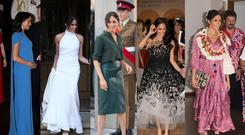Meghan's style choices for 2018 (PA)
