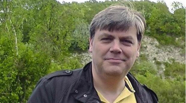 Lee Pomeroy, 51, who was stabbed to death on a Guildford to London Waterloo train on Friday (BTP/PA)