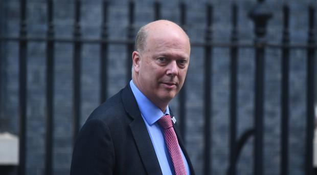 Labour is calling for the resignation of Transport Secretary Chris Grayling (Victoria Jones/PA)