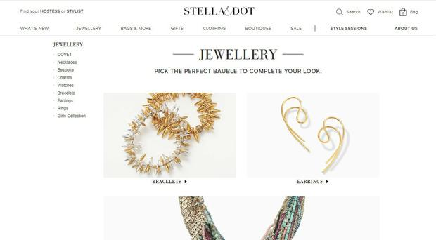 Stella and Dot is pulling out of the UK and Europe (Stella and Dot)