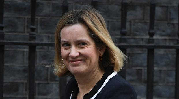 Work and Pensions Secretary Amber Rudd will try to allay fears about the roll-out of UC (PA)