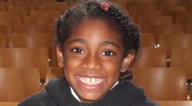Ella Kissi-Debrah, whose death was linked to unlawful levels of air pollution (Family handout/PA)