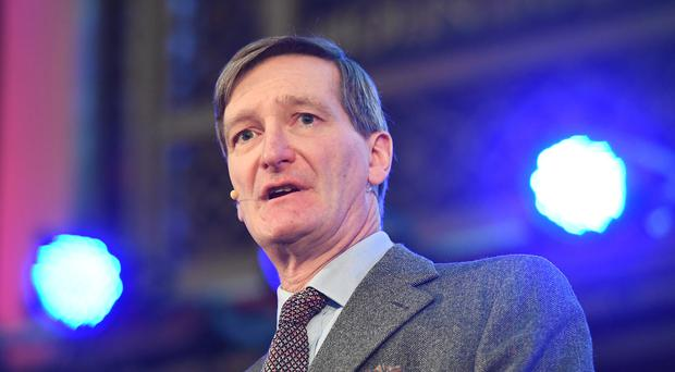 Dominic Grieve speaking during a convention on a second EU referendum at the Emmanuel Centre in central London.