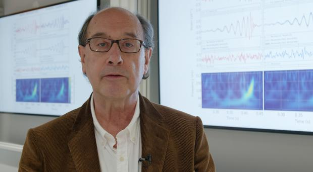 Professor Bernard Schutz is to be honoured after he discovered how to measure the expansion of the universe (Cardiff University/PA)