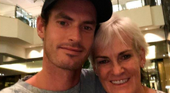 Andy Murray's post of him with his mother Judy in Melbourne ahead of the Australian Open