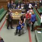 Labour MP Tulip Siddiq is wheeled through the chamber while MPs vote on the Prime Minister's Brexit deal in the House of Commons, London.