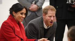 Harry and Meghan to attend .Cirque du Soleil premiere. Danny Lawson/PA Wire