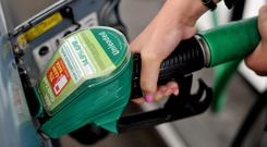 Lower fuel and tobacco prices have been behind the decline (Nick Ansell/PA)