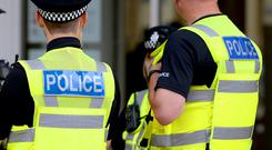 Police were called to a property in Kirkcaldy, Fife on Tuesday evening (Joe Giddens/PA)