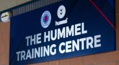 Auchenhowie was renamed the Hummel Training Centre after a commercial deal (Kirk O'Rourke/PA)