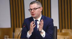 Mr Mackay was giving evidence to MSPs on the 2019/20 budget (Andrew Cowan/Scottish Parliament/PA)
