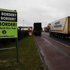 Drivers may need a green card to cross the Irish border.