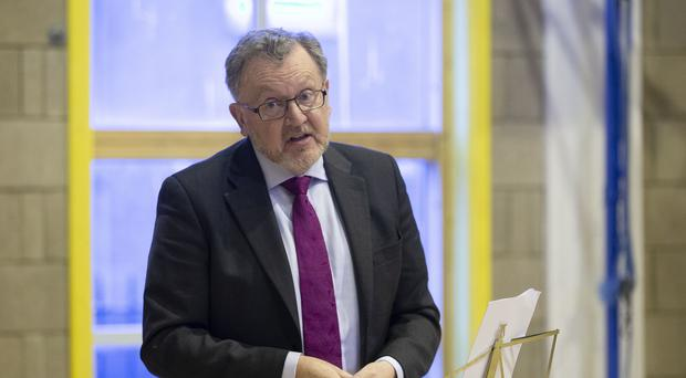 Scottish Secretary David Mundell has effectively ruled out a second Brexit vote (Jane Barlow/PA)