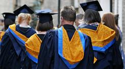 More young people from Scotland's deprived areas are going to university (Chris Radburn/PA)